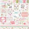 CBF117014 Flora No 3 Element Sticker