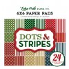 DS170142 Christmas DS 6x6 PaperPad Cover