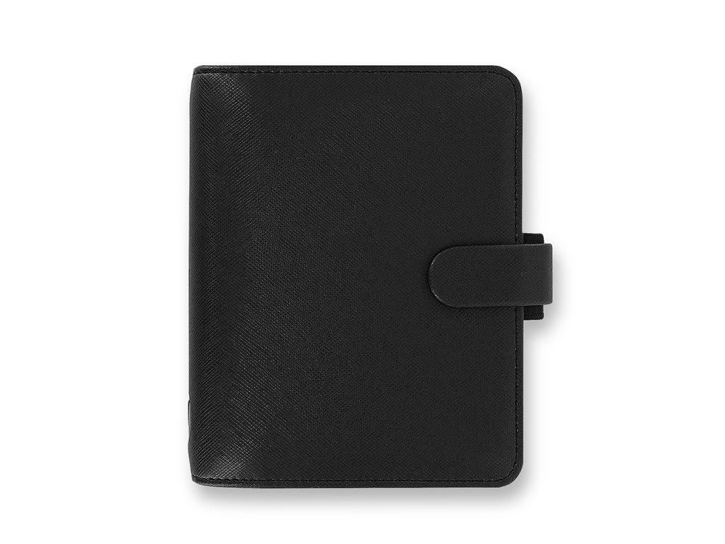 022468 Saffiano Pocket Black