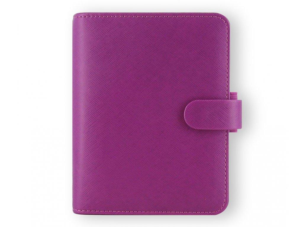 022452 Saffiano Pocket Raspberry