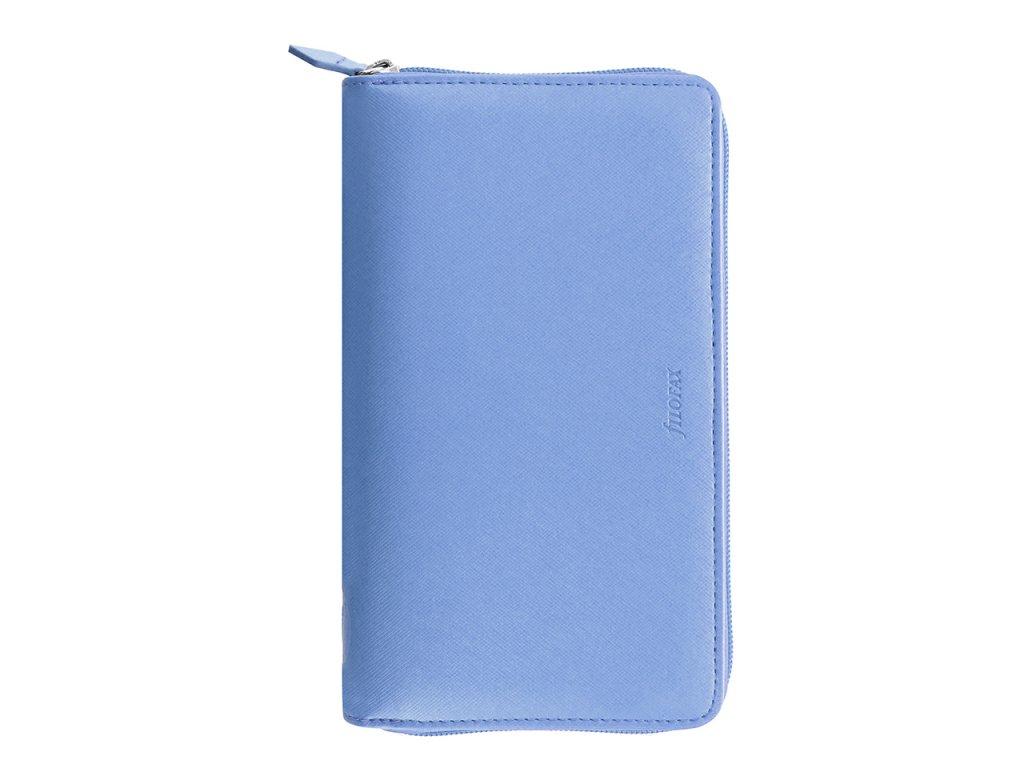 022592 Saffiano Zip Personal Compact Vista Blue