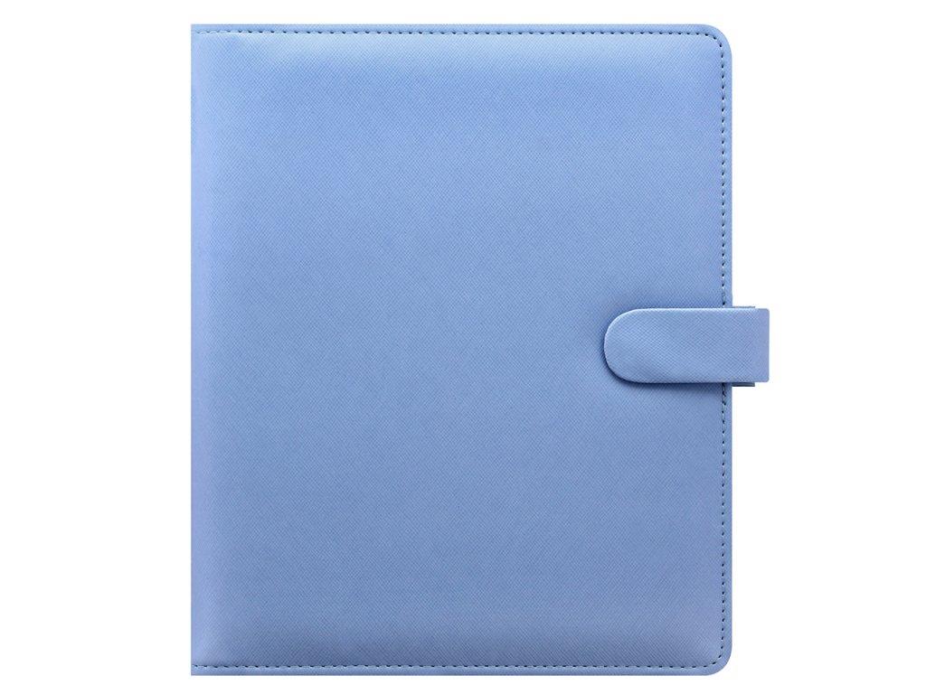022586 Saffiano A5 Vista Blue