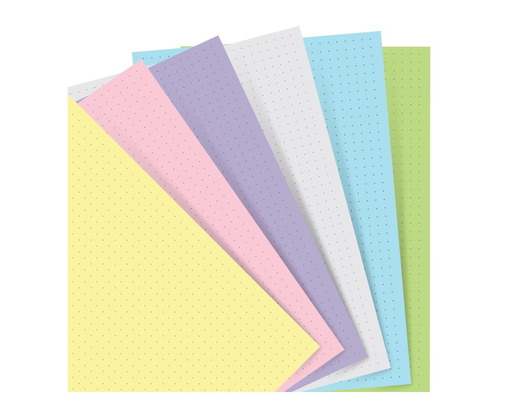 132611 Organiser Refill A5 Pastel Dotted Paper.jpg