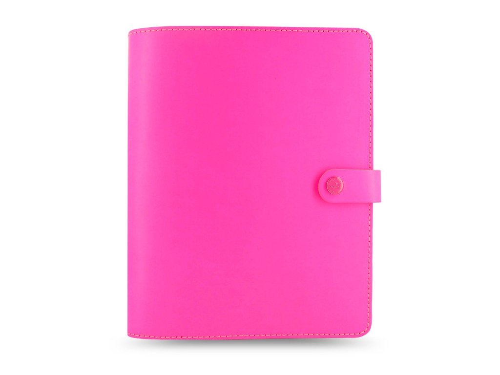filofax the original a5 fluoro pink large 1