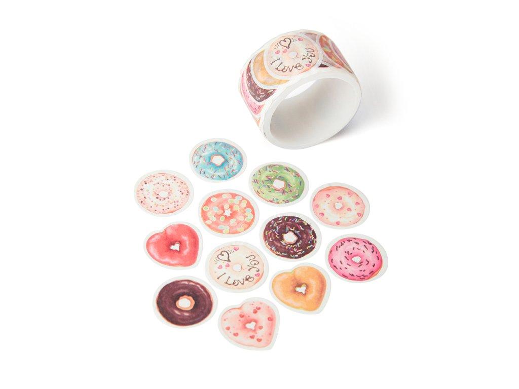Washi páska - Donuty