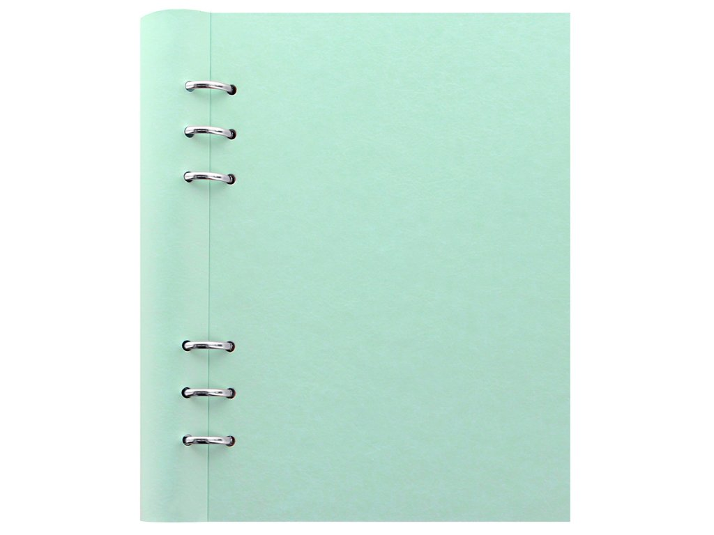 023621 Clipbook Classic Pastels A5 Duck Egg