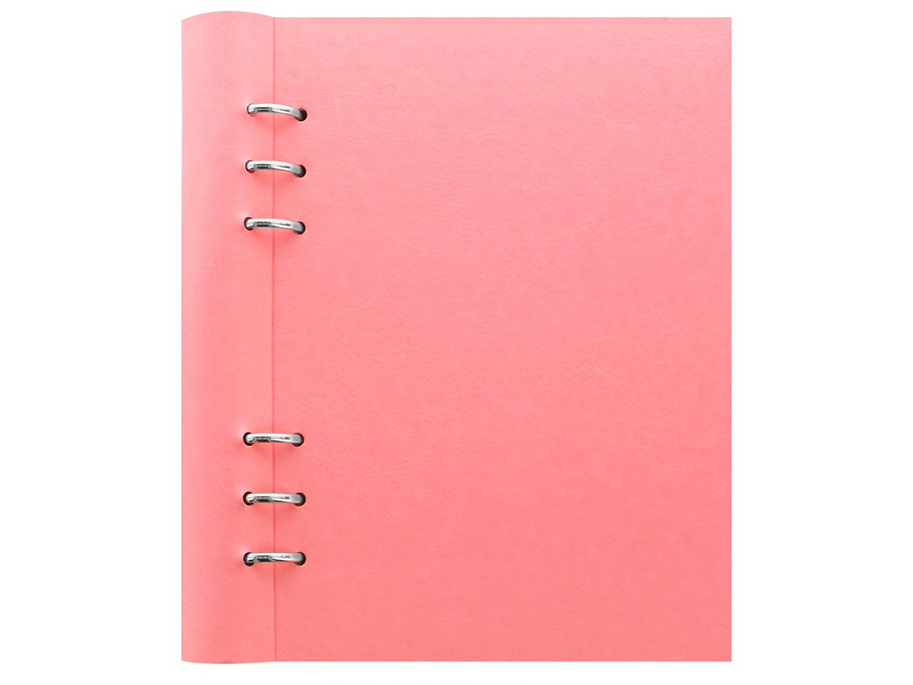 023622 Clipbook Classic Pastels A5 Rose