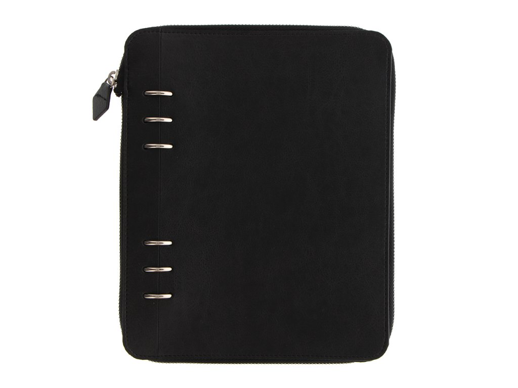 145015 Clipbook A5 Zip Black