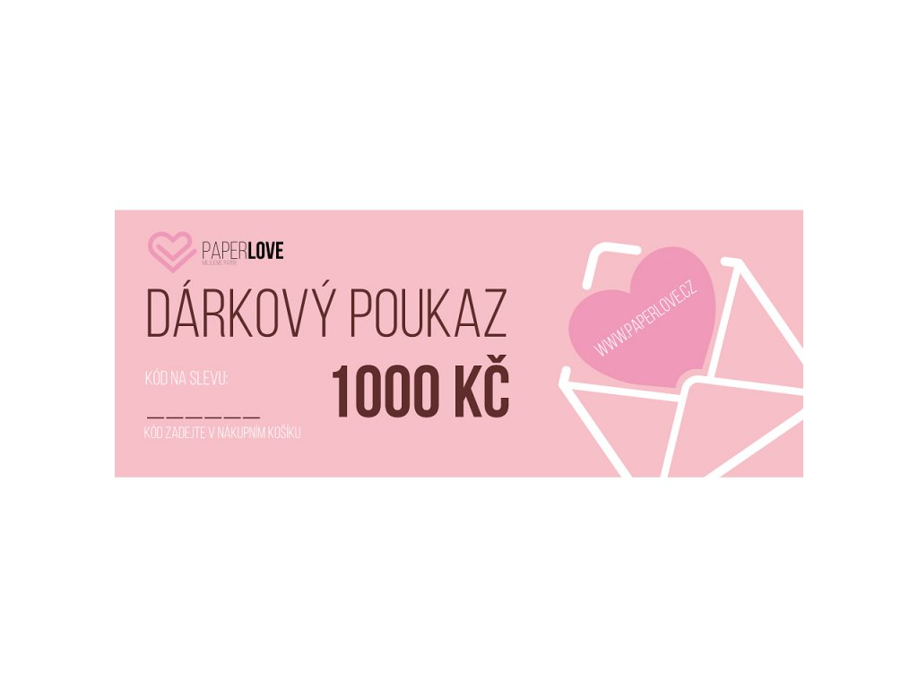 darkovypoukaz1000