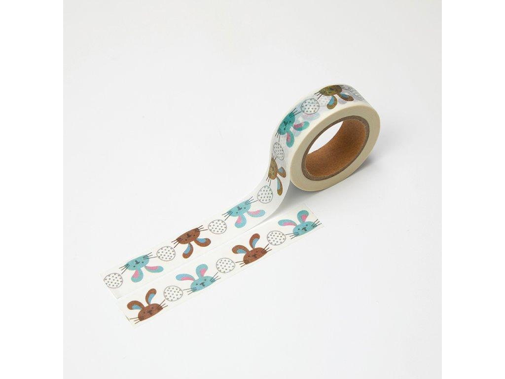 Washi páska - Velikonoční zajíčci