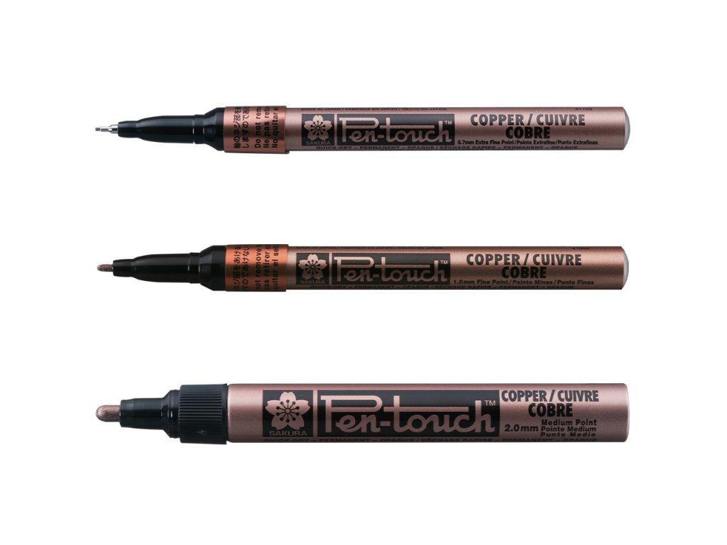 sakura pen touch medeny ruzne velikosti