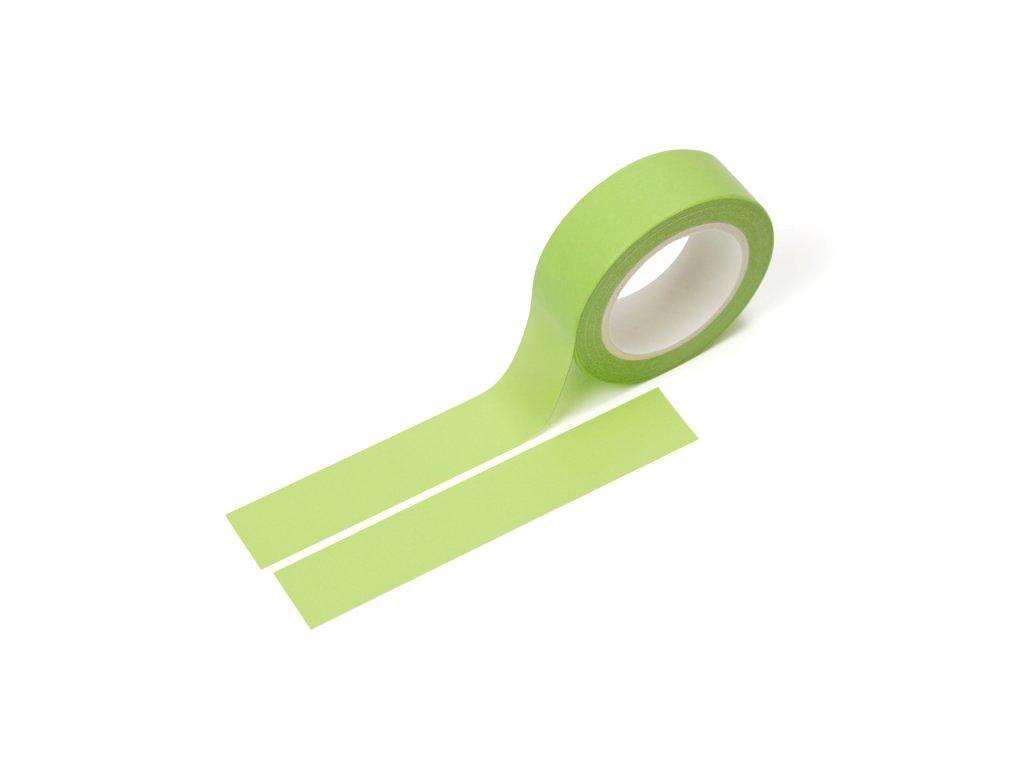 Washi páska - Limetková zelená