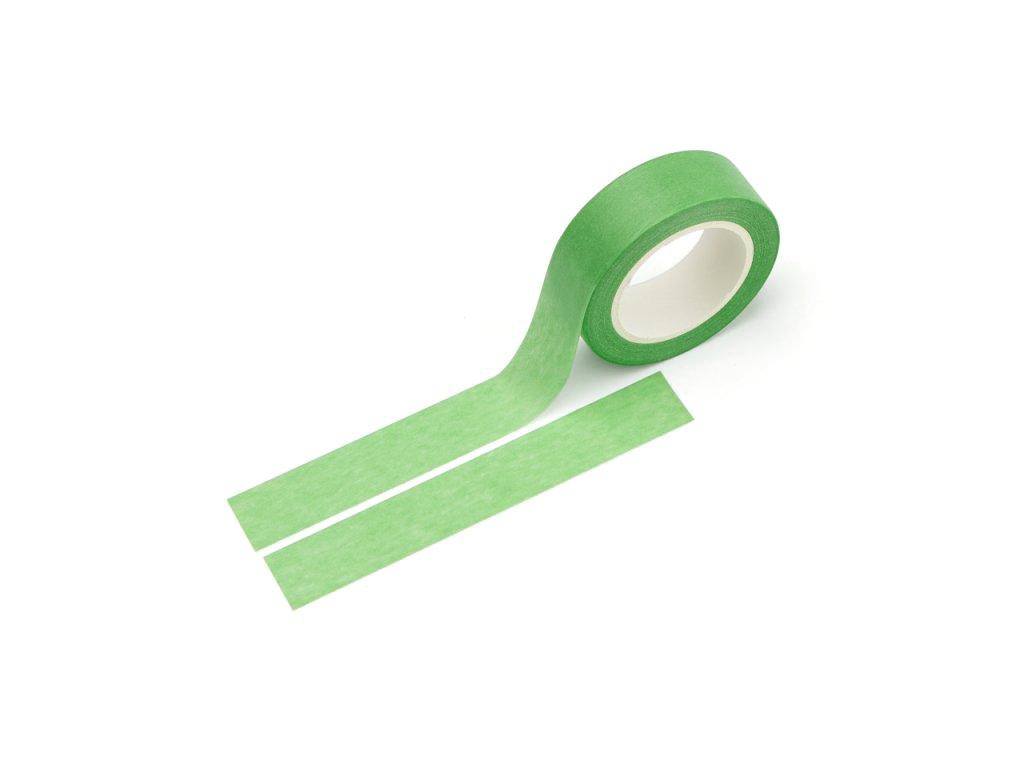 Washi páska - Světle zelená