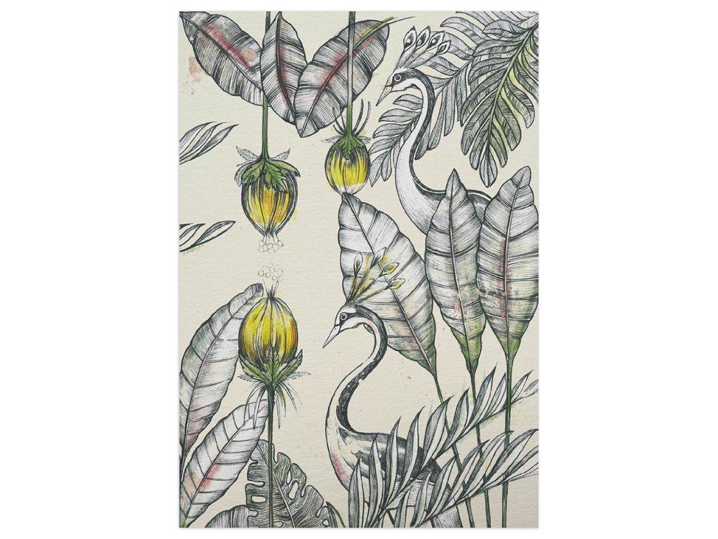 pohlednice ligarti jerabi