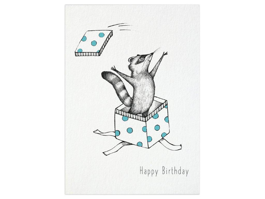 pohlednice ligarti narozeninovy myval