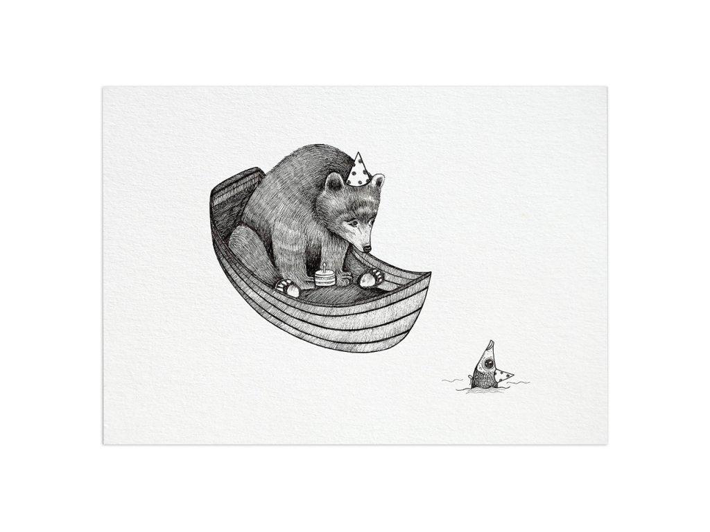 pohlednice ligarti medvedi narozeniny