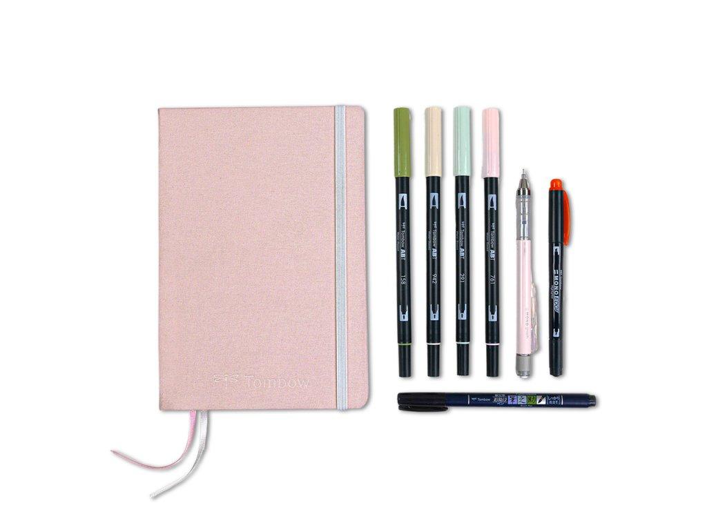 tombow bullet journal kit pastel paperlove