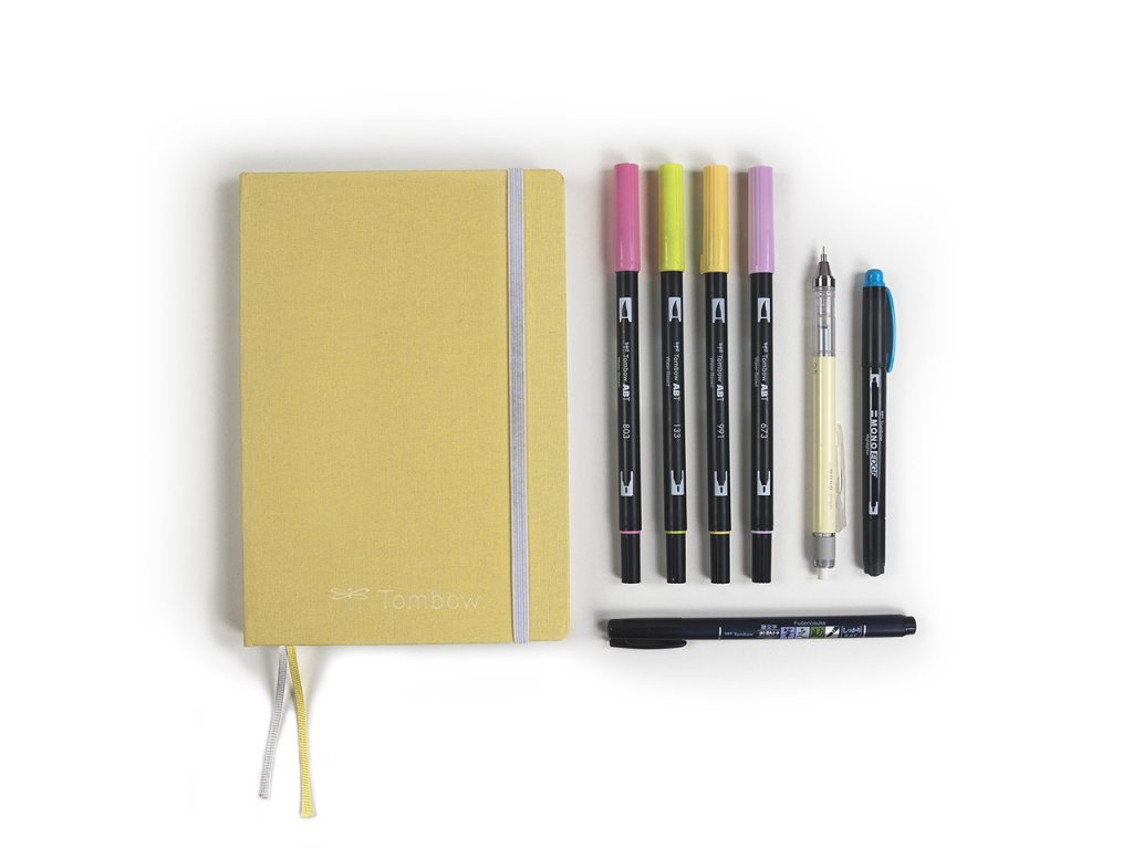 tombow sada bullet journal bright 1