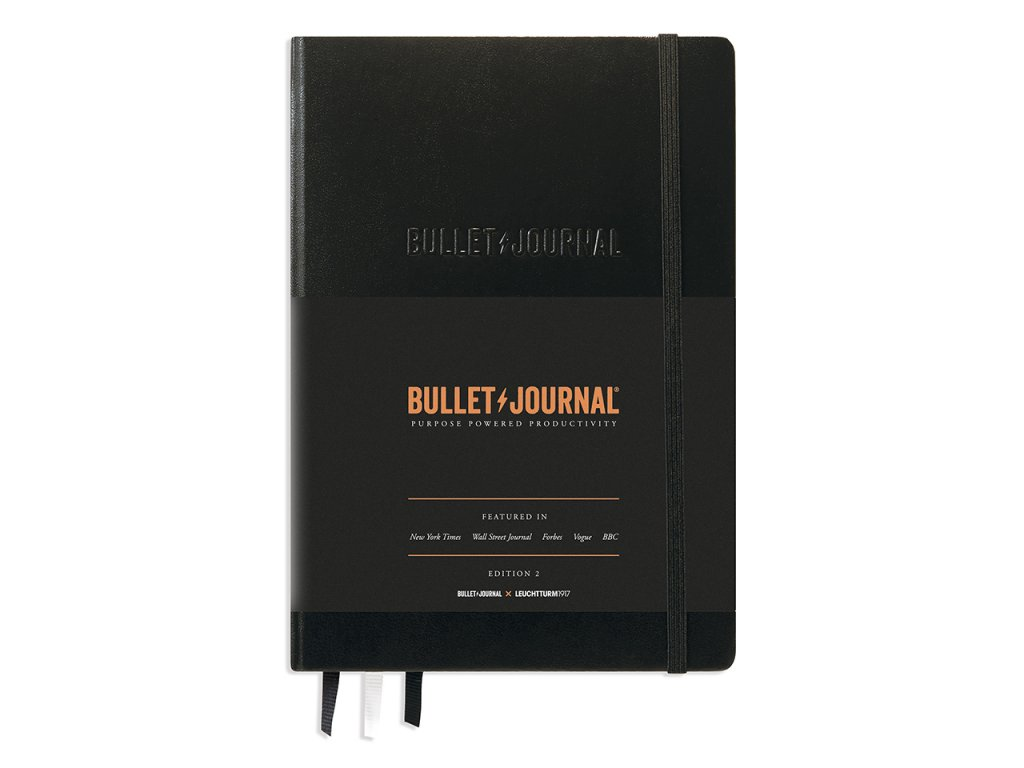 bullet journal leuchtturm1917 edition 2 medium a5 black