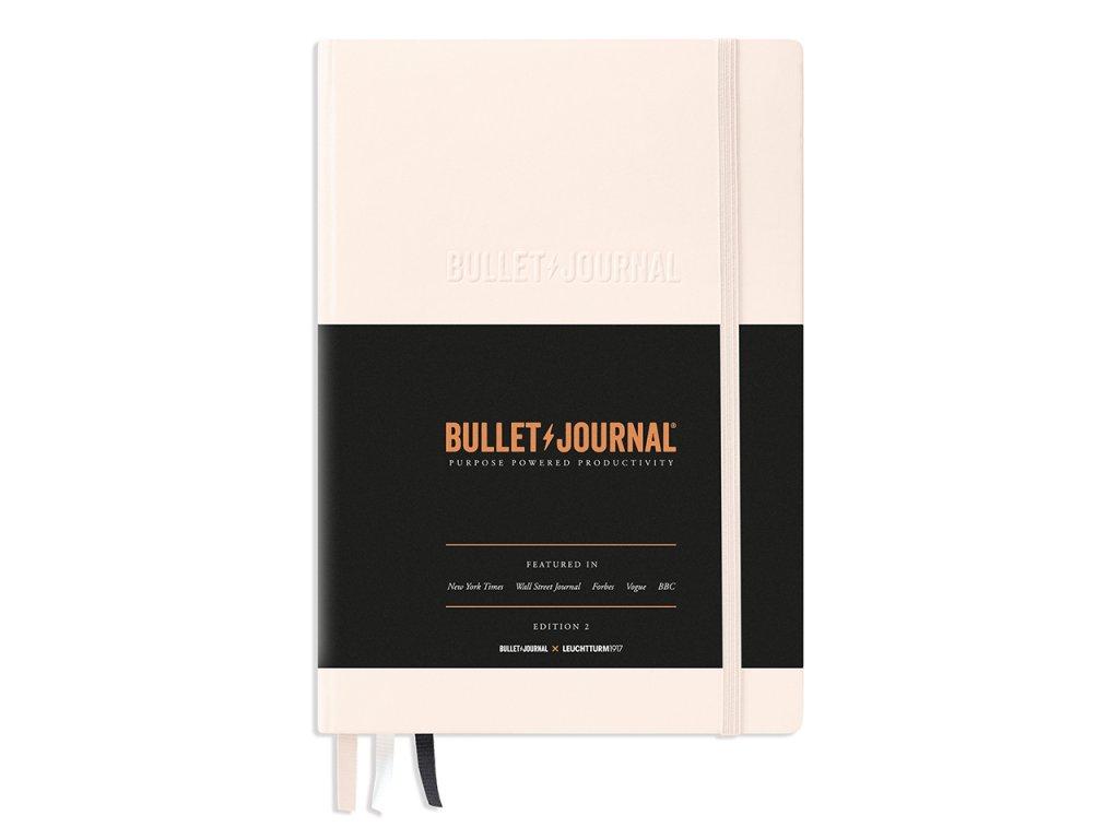 bullet journal leuchtturm1917 edition 2 medium a5 blush