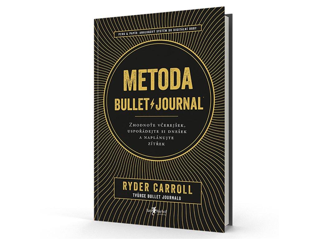 kniha metoda bullet journal ryder carroll