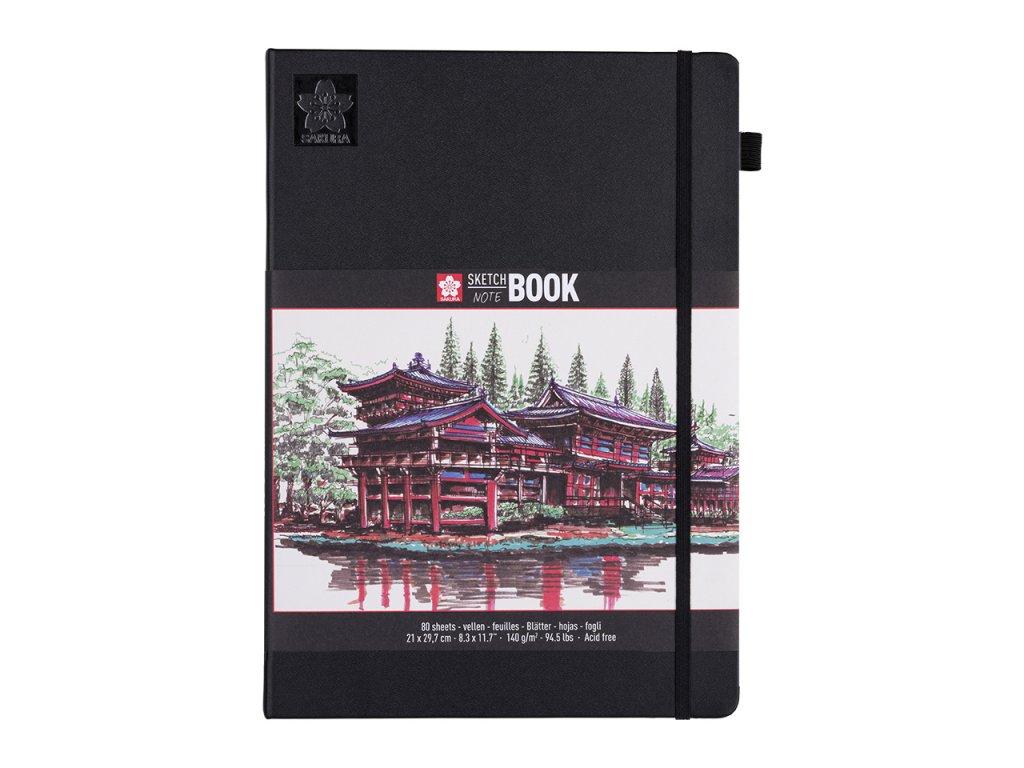 skicak sakura sketch notebook creme a4 80 stran 1