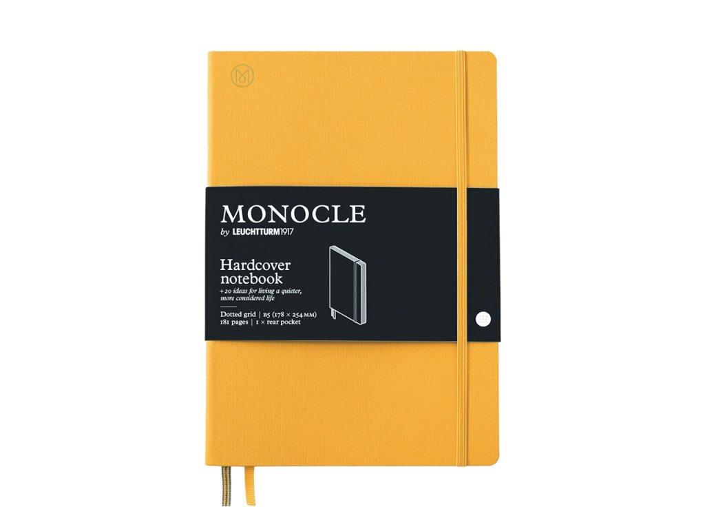 teckovany zapisnik leuchtturm1917 monocle b5 yellow