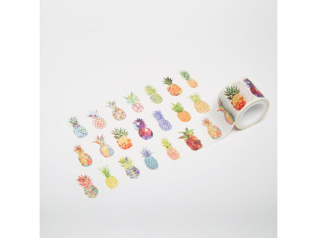 Washi páska - Ananasy