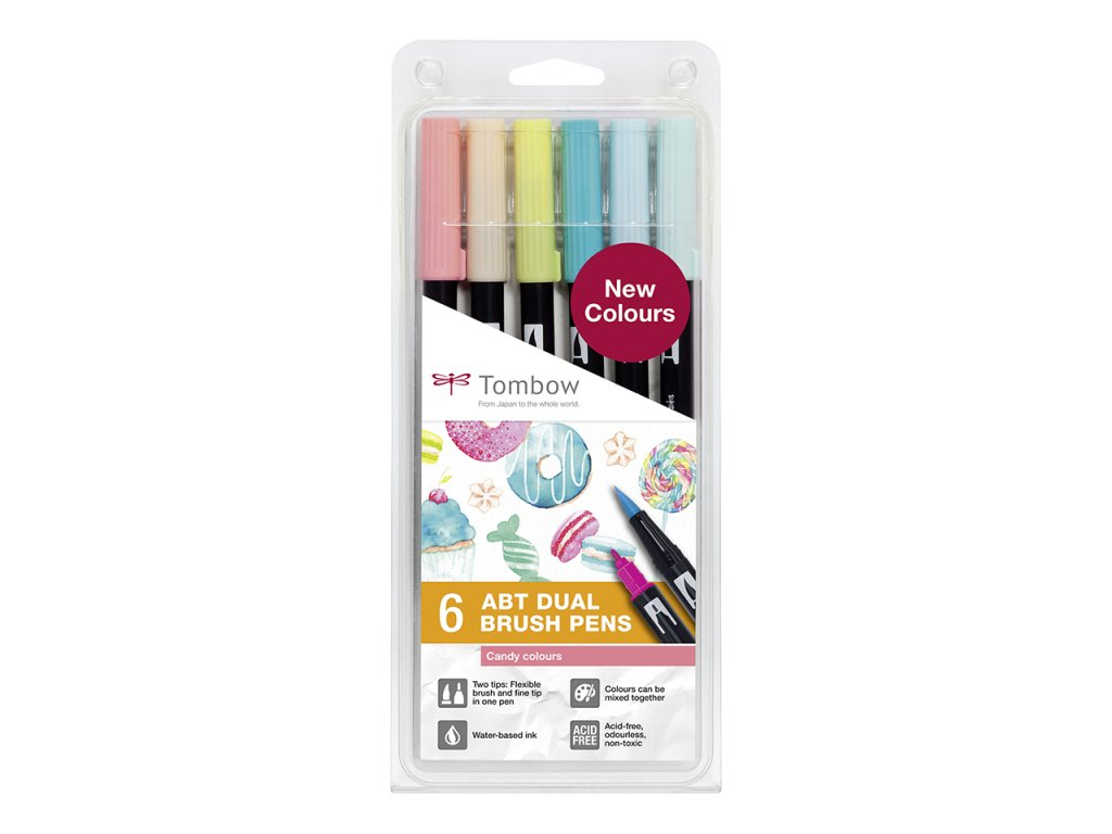 Tombow Dual Brush Pen Candy Paperlove