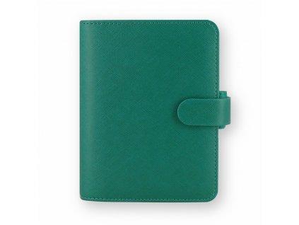 022526 Saffiano Pocket Aqua Front