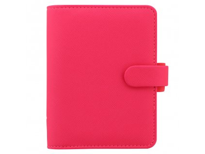 028752 Saffiano Fluoro Pocket Pink1