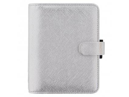 028755 Saffiano Metallic Pocket Silver2
