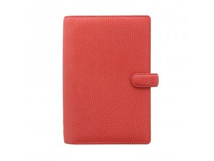 025552 Filofax Organiser Finsbury Personal Coral Front