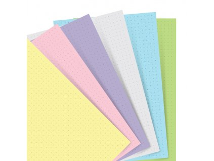 132611 Organiser Refill A5 Pastel Dotted Paper.jpg
