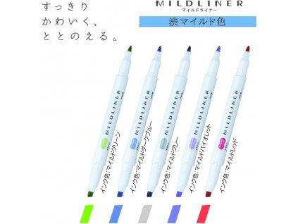 zvyraznovace zebra mildliner cool paperlovecz
