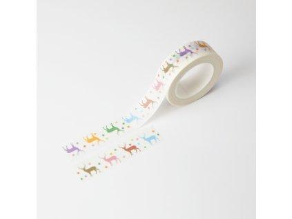 Washi páska - Jeleni