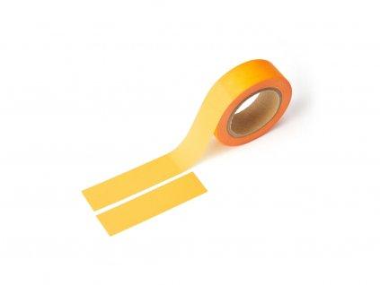 Washi páska - Neonově oranžová