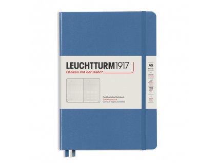 Tečkovaný zápisník Leuchtturm1917 Medium Denim