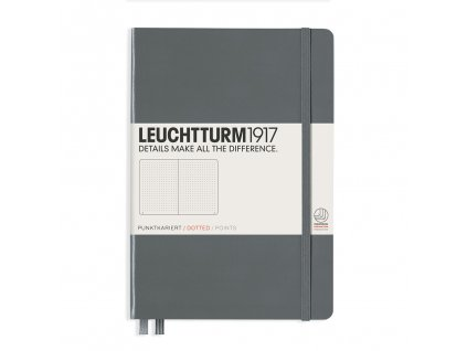 Tečkovaný zápisník Leuchtturm1917 Medium Anthracite