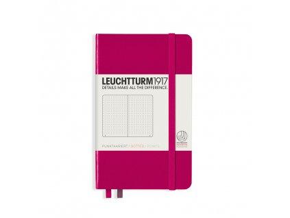 Tečkovaný zápisník Leuchtturm1917 Pocket Berry