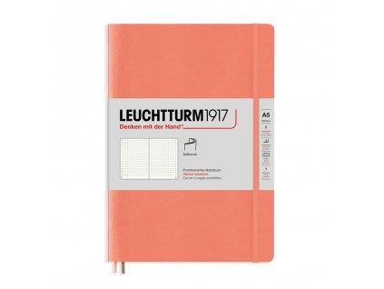 Tečkovaný zápisník Leuchtturm1917 Medium Bellini (měkké desky)