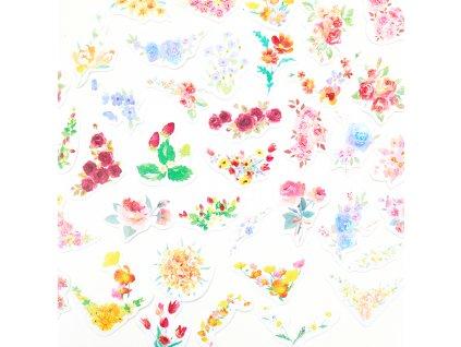 vintage kvetiny samolepky paperlove cz 0003