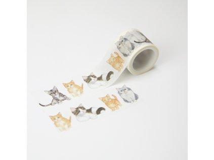 Washi páska - Koťátka