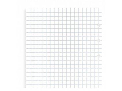 Čtverečkované papíry - náplň Filofax Clipbook