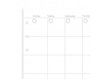 nedatovany mesicni kalendar napln filofax clipbook (kopie)