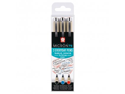 Sakura pigma micron pn everyday pens sada 3ks office