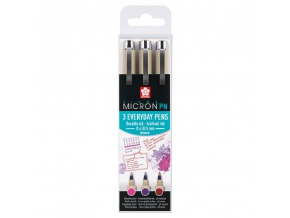 sakura pigma micron pn everyday pens sada 3ks crafts