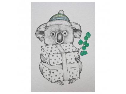 pohlednice ligarti koalalala