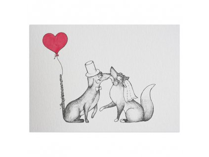 pohlednice ligarti psi laska