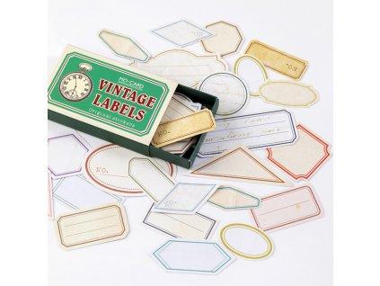 samolepky vintage 2 paperlove